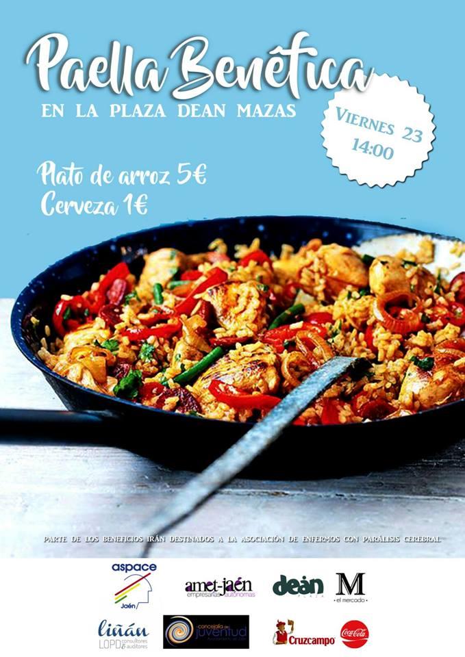 Paella benéfica a favor de Aspace Jaén