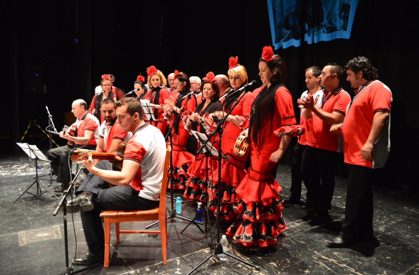 Actuación de la Asociación Cultural Coro Compases Romeros de Jaén