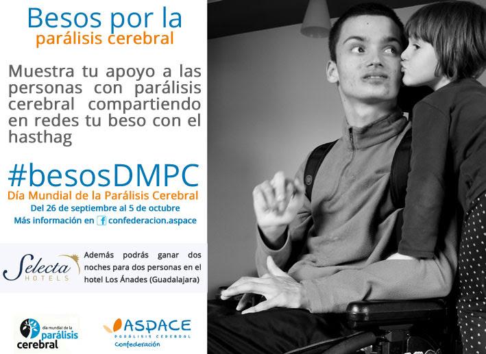Arranca la campaña 'Besos por la parálisis cerebral'