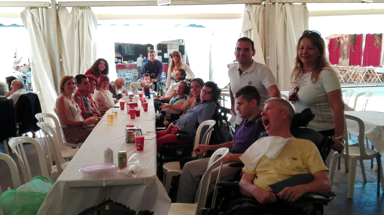 Los usuarios de la UED también disfrutan de la Feria de San Lucas