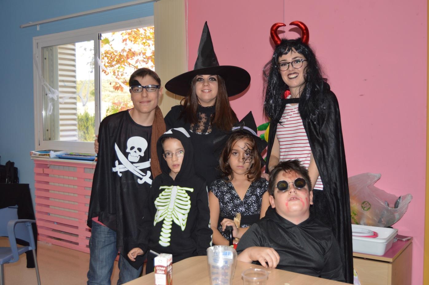 Fiesta de Halloween en Aspace Jaén