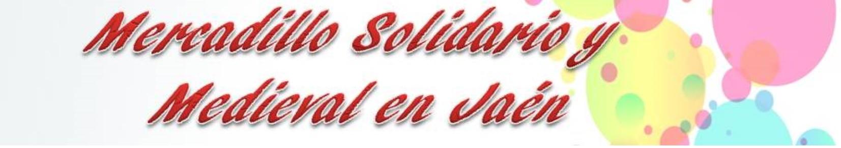 Aspace Jaén participará en el mercadillo solidario y medieval