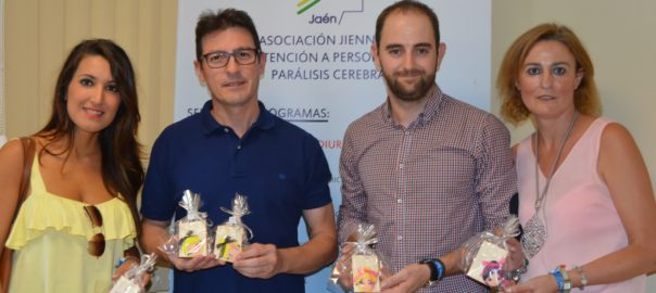 Una boda con regalos solidarios de Aspace Jaén