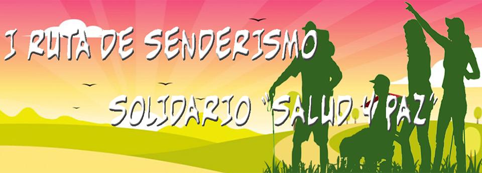 """""""I Ruta de Senderismo Solidario Salud y Paz"""" a beneficio de Aspace Jaén"""