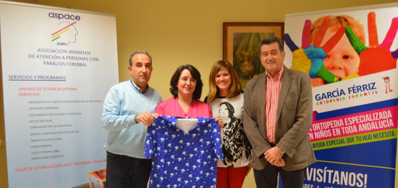 Aspace Jaén y Ortopedia García Férriz firman un convenio de colaboración