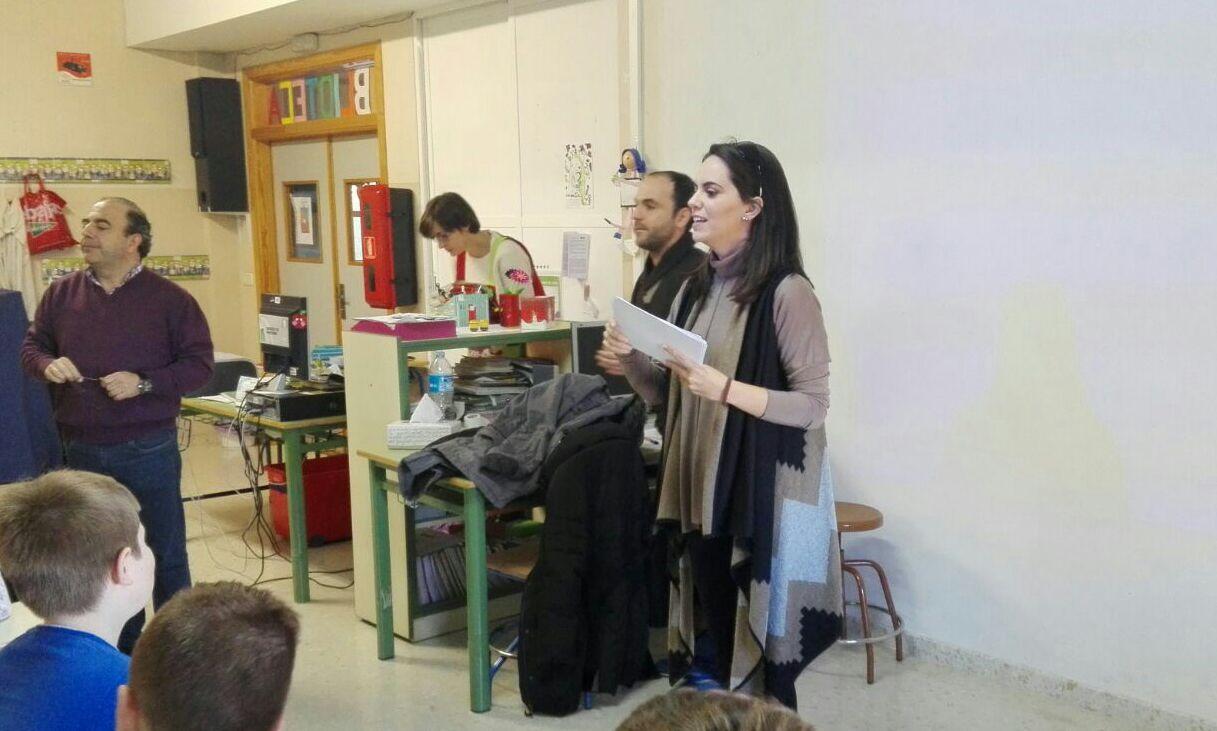 Charla sobre la discapacidad en el CEIP Navas de Tolosa
