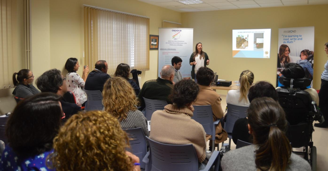 Se presenta en Aspace Jaén el proyecto de Irisbond a través de la tecnología