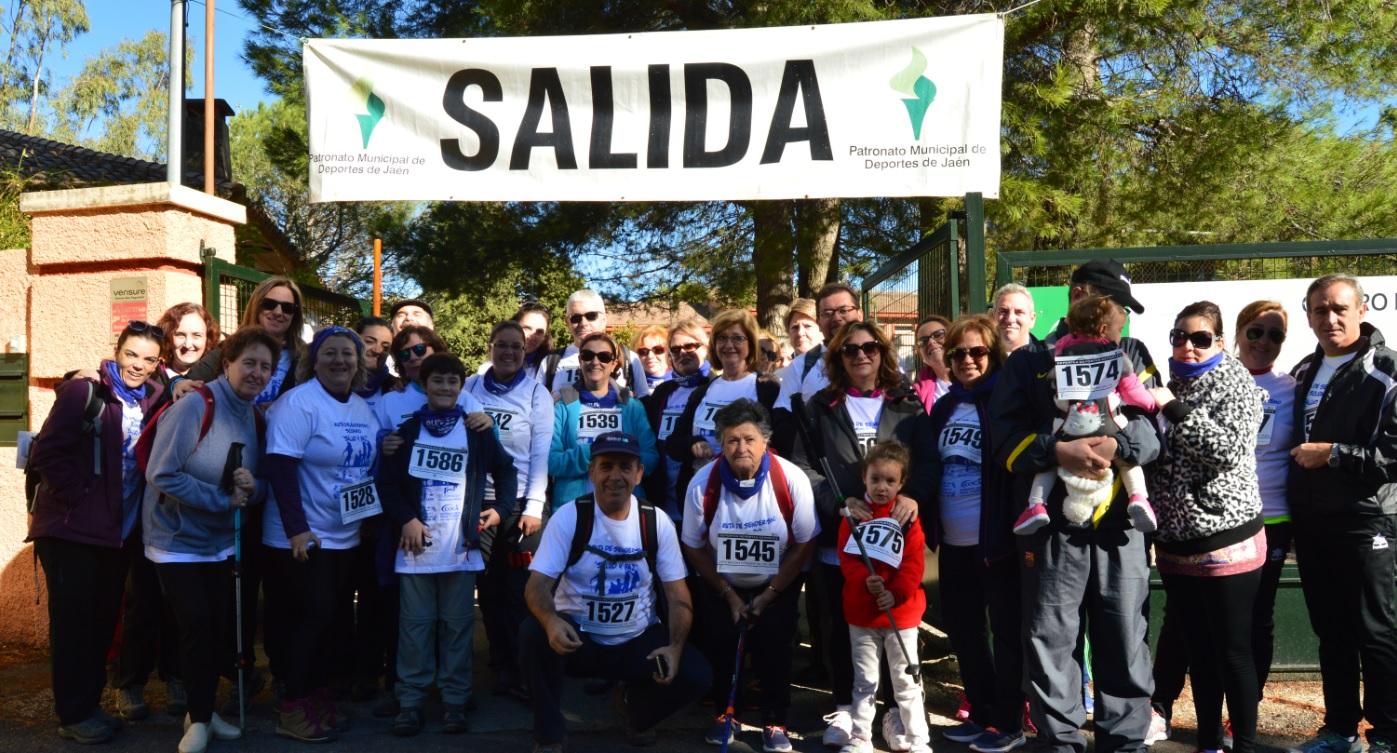 Una caminata solidaria a favor de Aspace Jaén