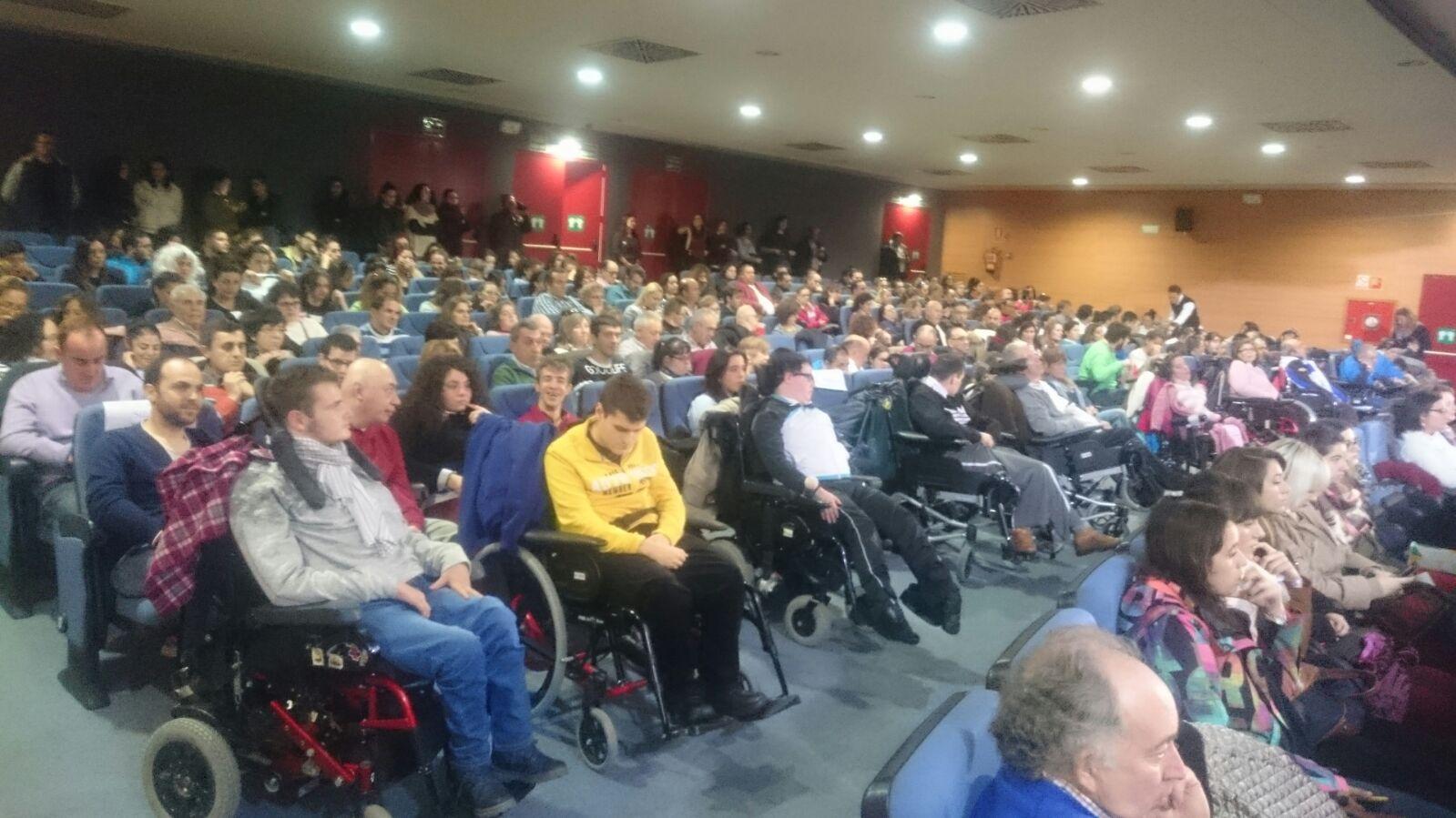 La UED participó en los actos del Día de la Discapacidad