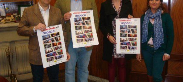 Aspace Jaén presenta oficialmente su calendario solidario para el 2017