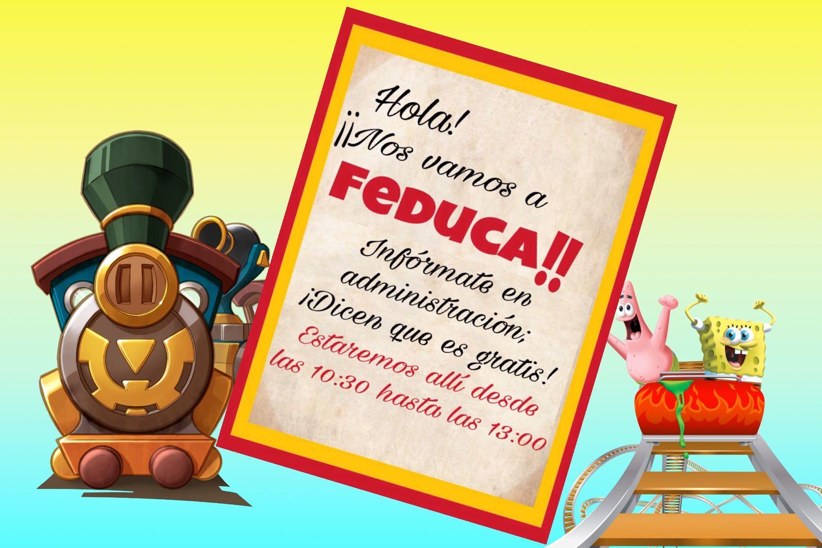 El 29 de diciembre ven gratis a FEDUCA