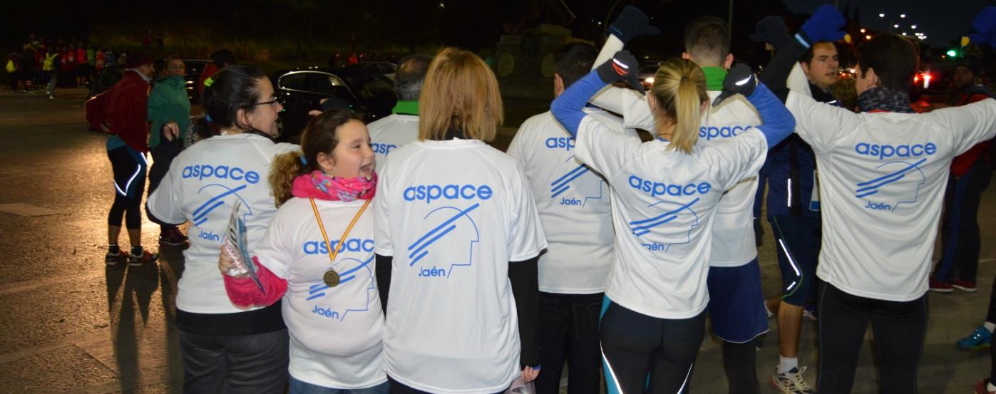 Aspace Jaén estuvo representada en la Carrera de San Antón