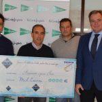 Noble gesto de Hielo Azul con Aspace Jaén