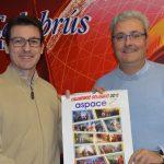 Viajes Calabrús apuesta por el calendario solidario de Aspace Jaén