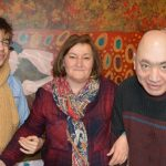 "Toñi Cruz (UPM): <i>""La pintura les anima, les da alegría y fuerza""</i>"