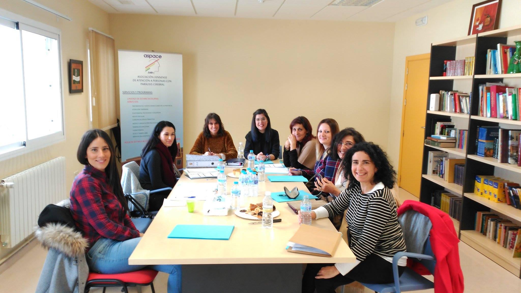 Aspace Andalucía conoce la nueva sala de integración sensorial de Aspace Jaén