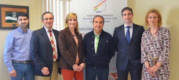 El Grupo Avanza visita las instalaciones de Aspace Jaén