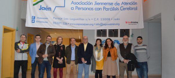 El Grupo Municipal Socialista visita las instalaciones de Aspace Jaén