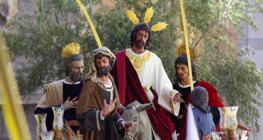Este domingo La Borriquilla realizará una <em>levantá</em> en honor a Aspace Jaén