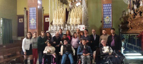 La UED de Aspace Jaén realiza una visita a La Borriquilla
