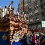 """La Cofradía de la Borriquilla realiza una <em>""""levantá""""</em> en honor a Aspace Jaén"""