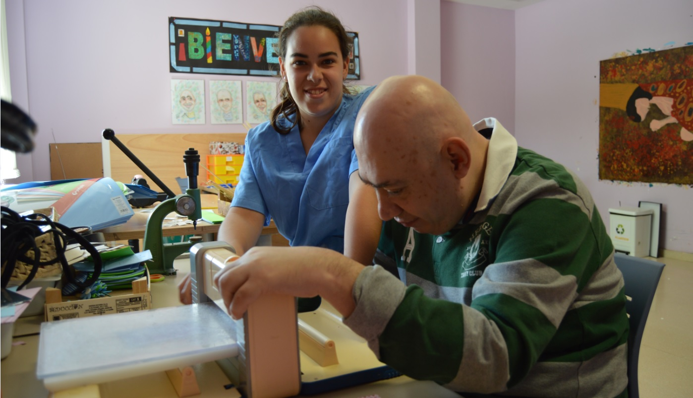 Carmen Beltrán: «A pesar de mi discapacidad, sé salir adelante»