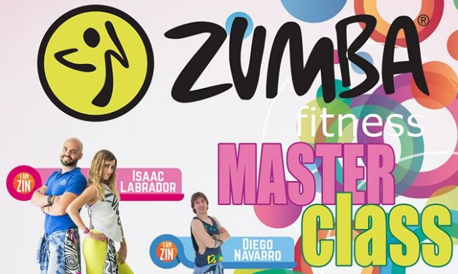 Zumba Fitness Master Class a favor de Aspace Jaén el 17 de junio
