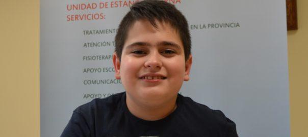 """Salva Cabrera: """"De mayor quiero ser periodista o deportista paralímpico"""""""