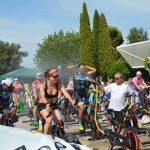 A pesar del calor, Jaén sigue apoyando al Maratón Ciclo Indoor a favor de Aspace Jaén