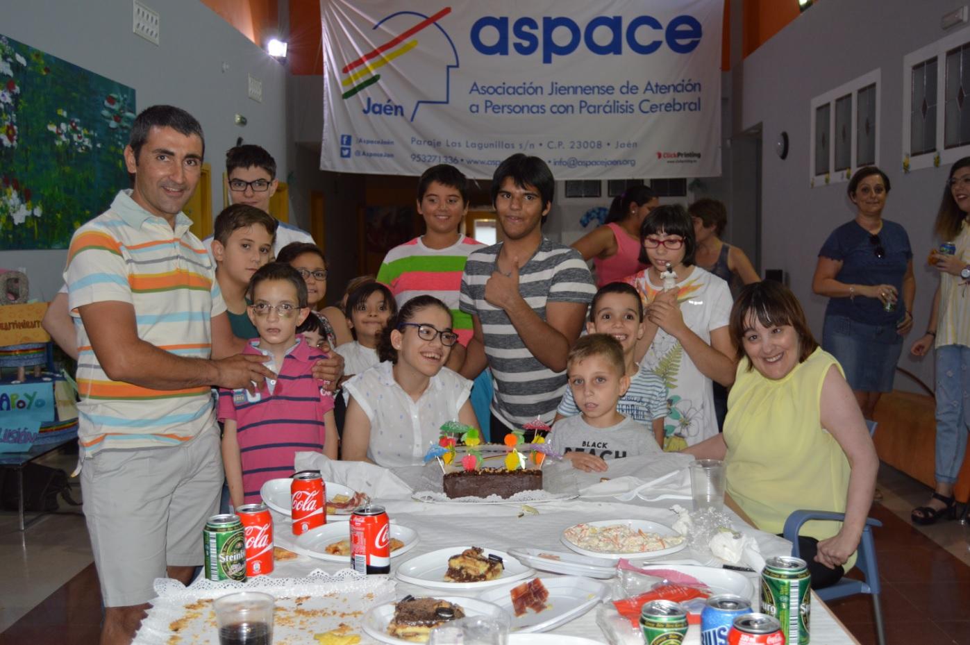 Aspace Jaén celebra su fiesta de fin de curso