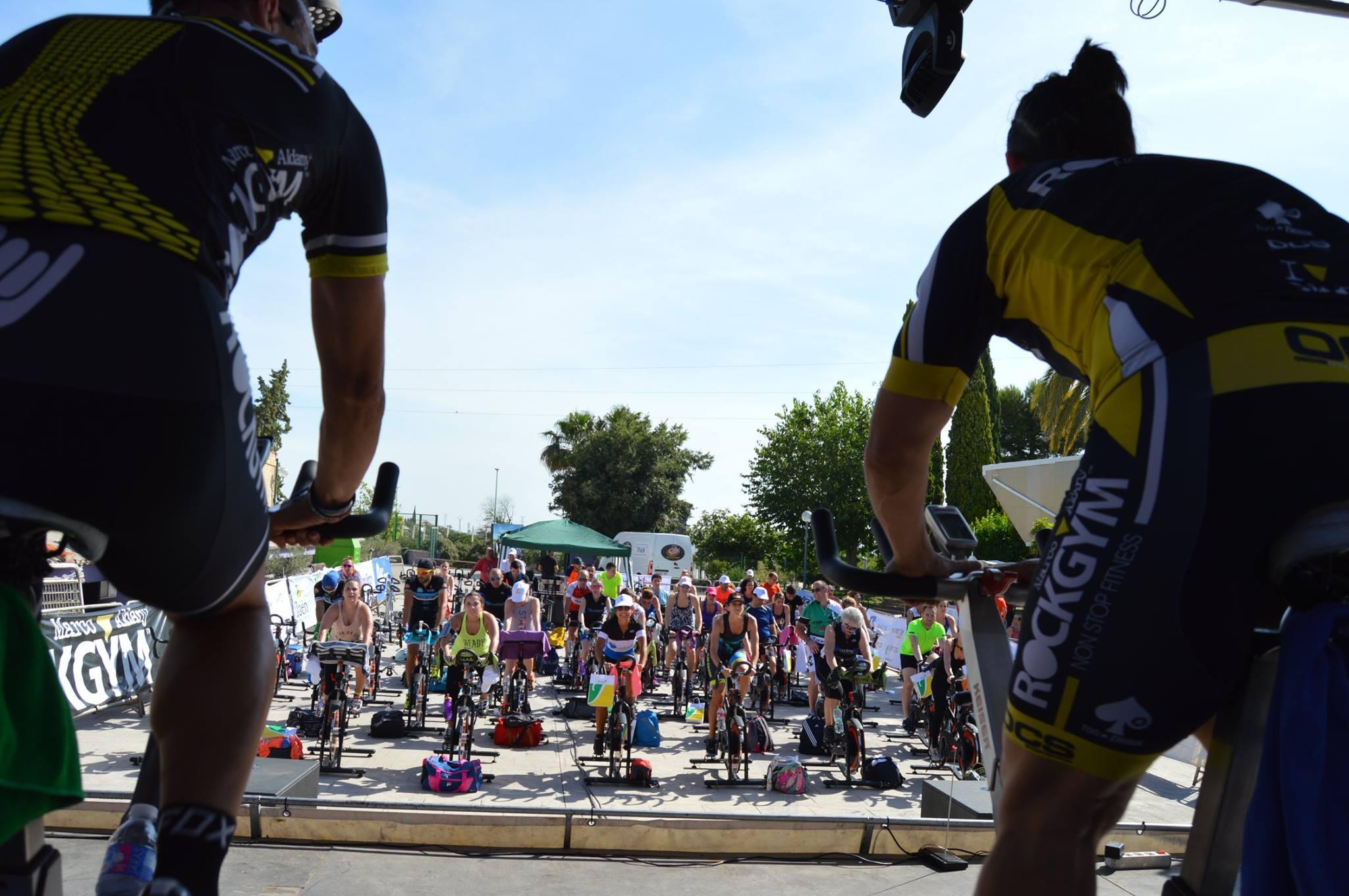 IV Maratón Benéfico de Ciclo Indoor a favor de Aspace Jaén