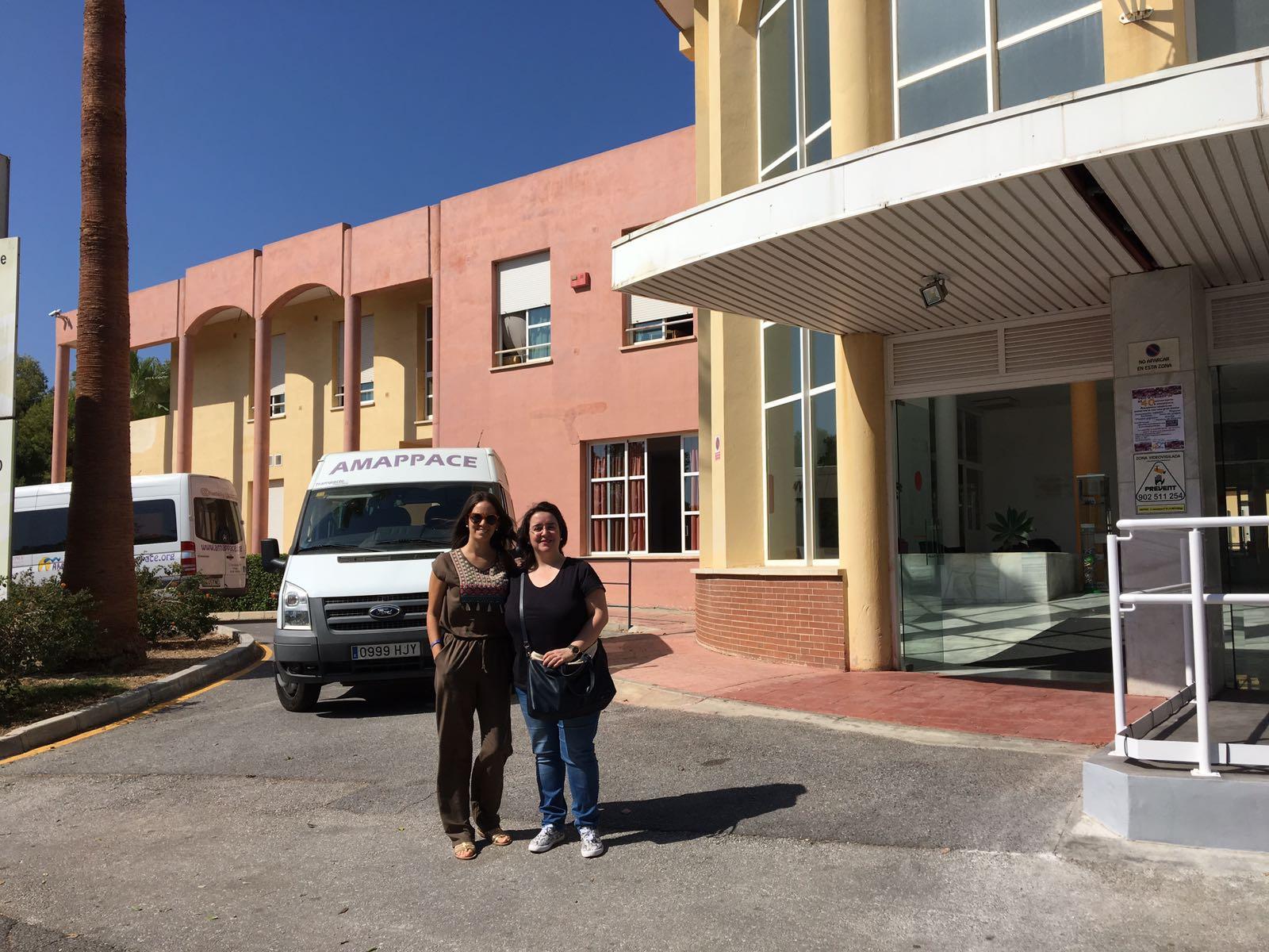 Profesionales del CAIT de Aspace Jaén estuvieron en un curso de formación organizado por Aspace Andalucía