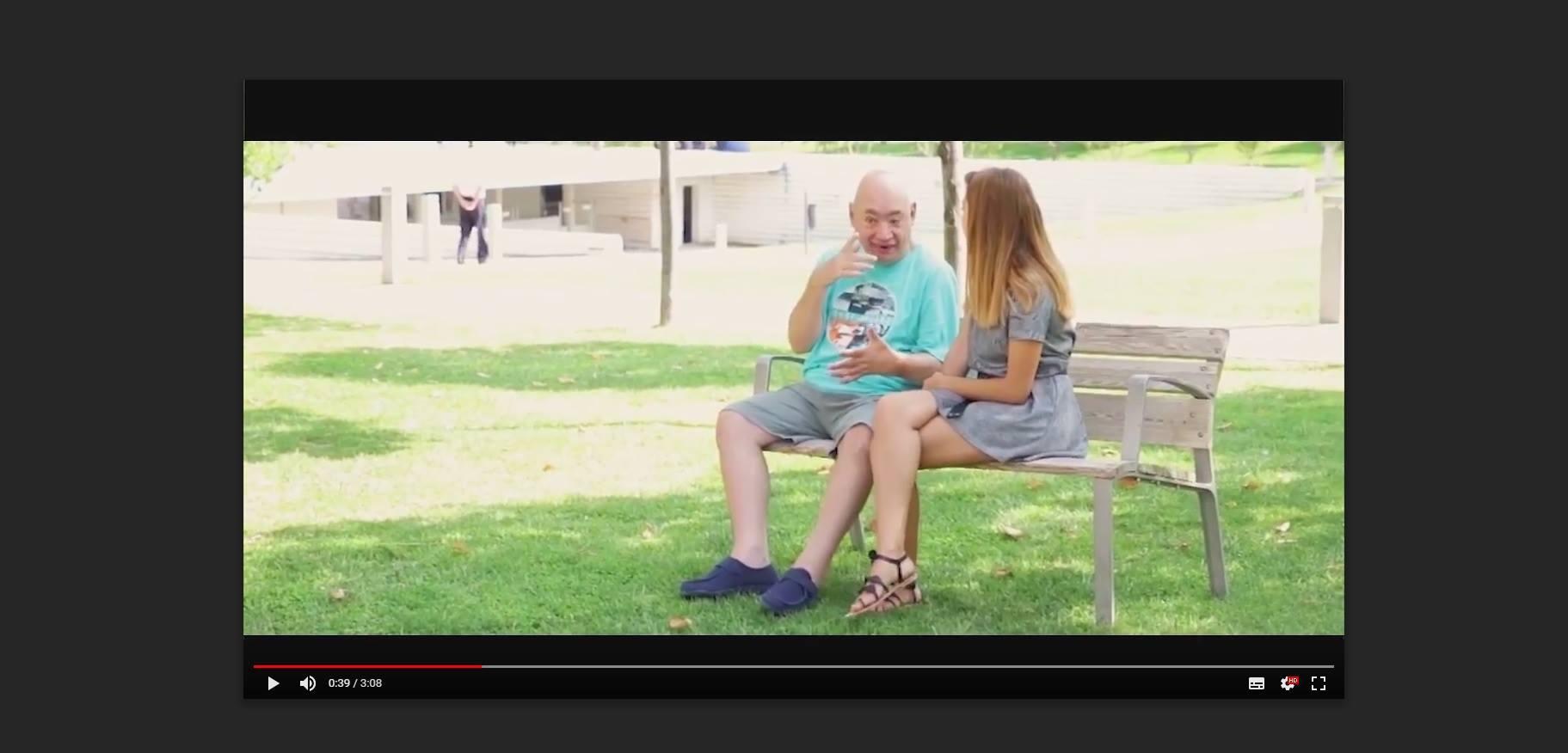 Así es el spot del Día Mundial de la Parálisis Cerebral de Aspace Jaén