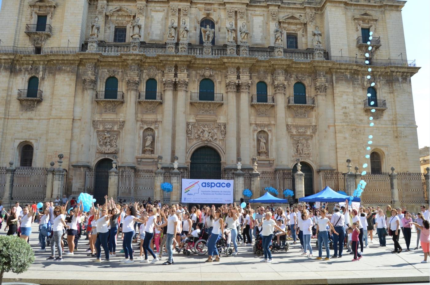 Aspace Jaén celebró el Día Mundial de la Parálisis Cerebral en un ambiente festivo
