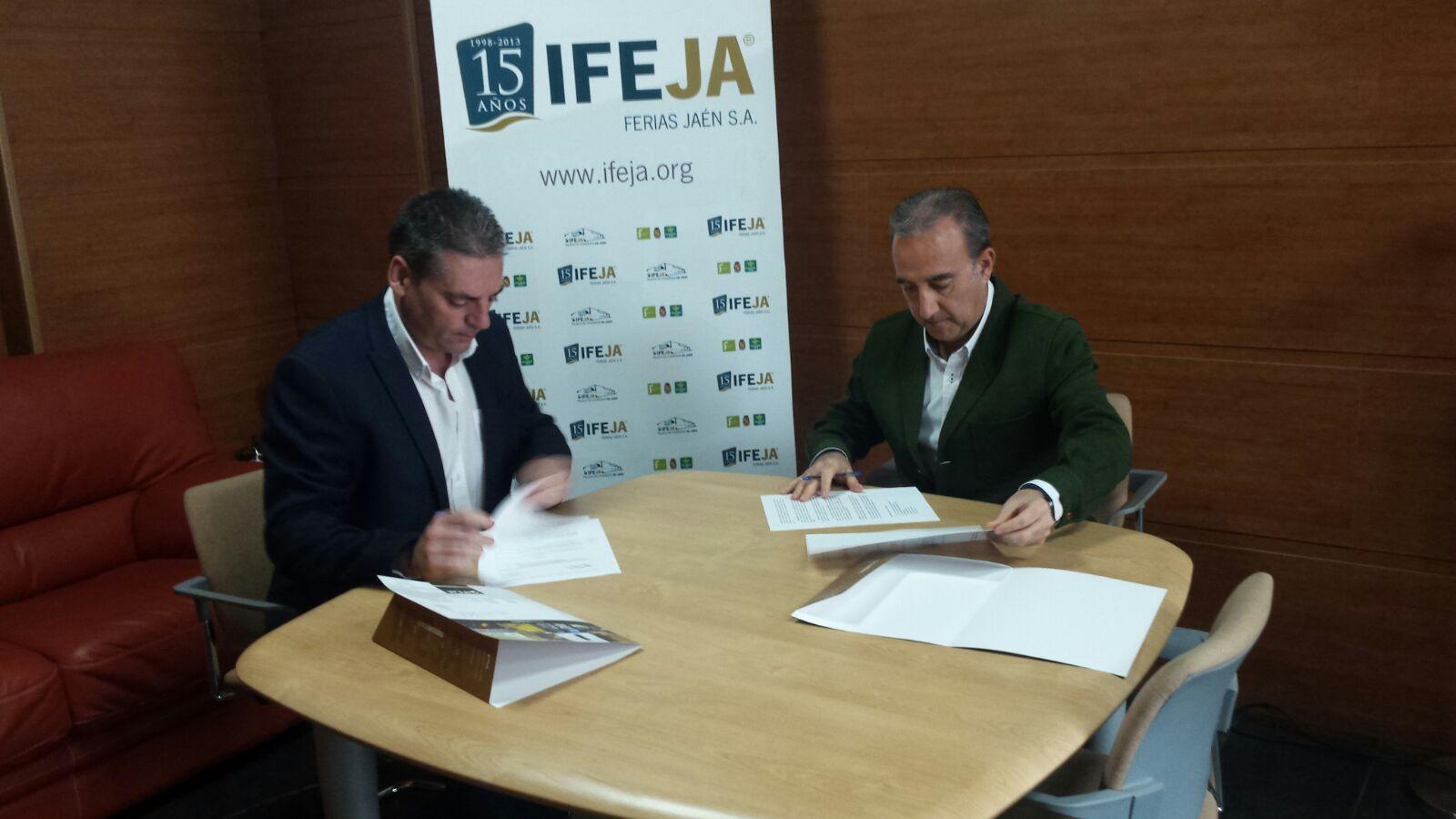 Aspace Jaén firma un acuerdo de colaboración con IFEJA