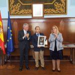 Reconocen la labor de Aspace Jaén con motivo del 39 aniversario de la Constitución Española
