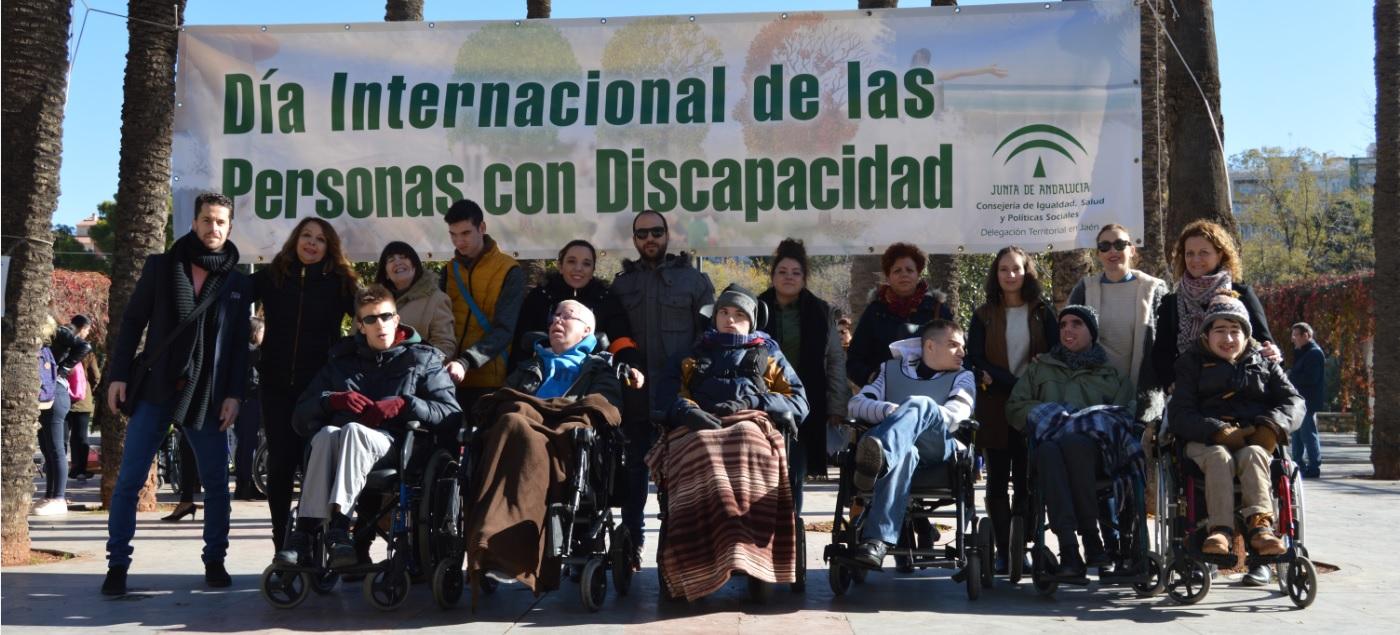 Aspace Jaén en el Día Internacional de las Personas con Discapacidad