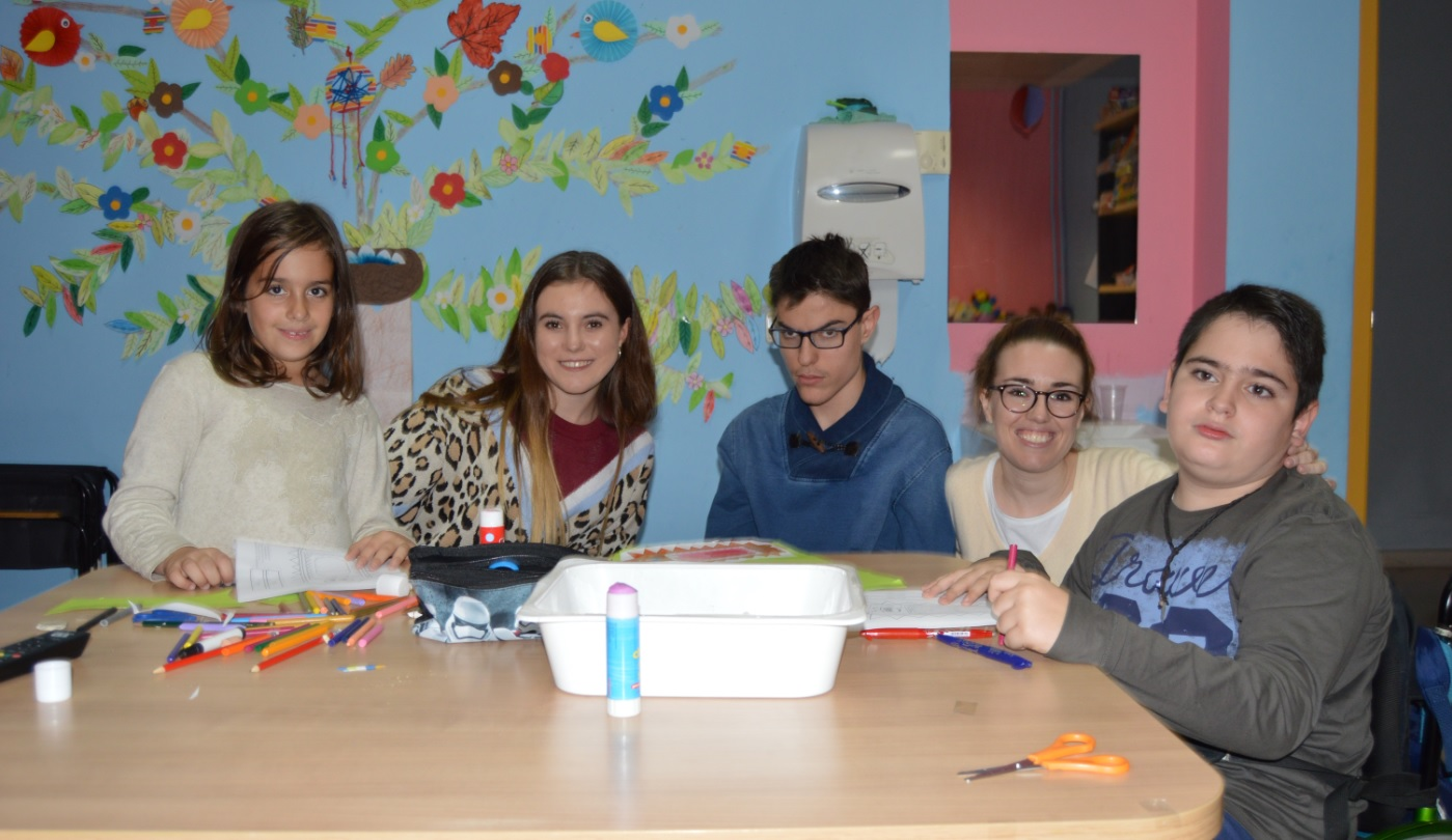 Respiro familiar para familias con hijos con parálisis cerebral