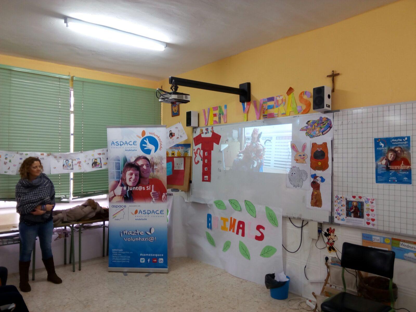 Finaliza con éxito la campaña de captación de voluntarios en Aspace Jaén