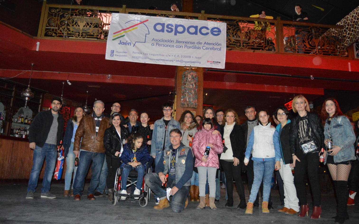 Éxito en la VI Fiesta Motera Ángeles Guardianes a favor de Aspace Jaén
