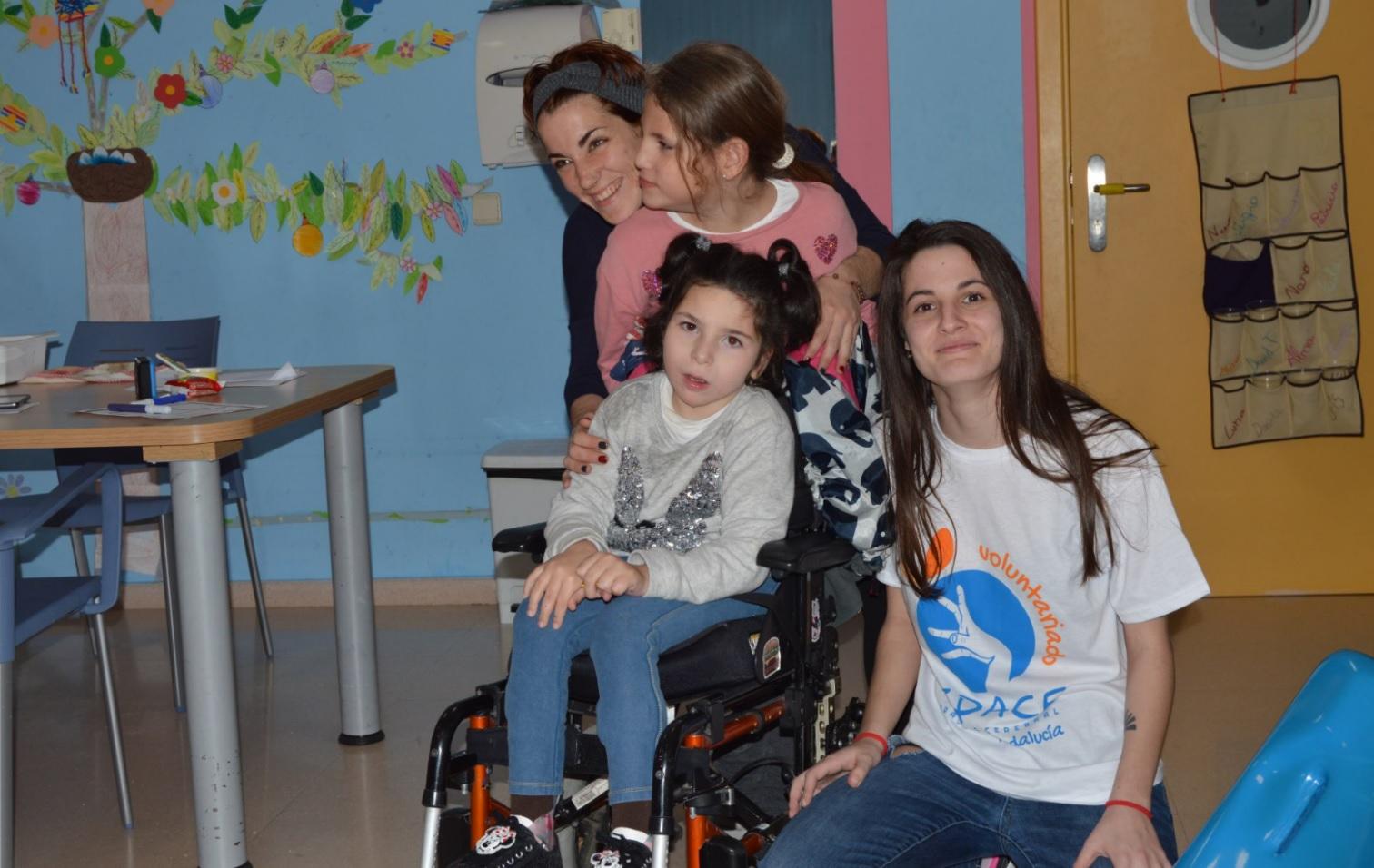 María Baudet: «Ha sido una gran decisión comenzar de voluntaria en Aspace Jaén»