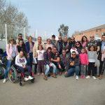 Los Ángeles Guardianes visitaron Aspace Jaén este viernes
