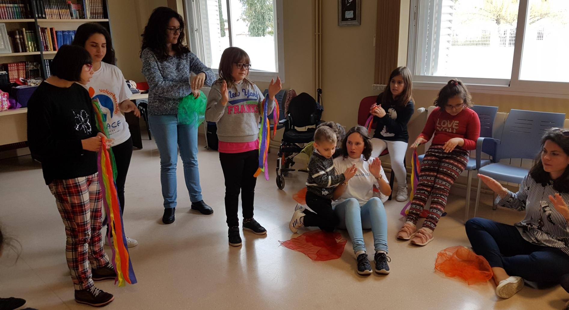 "Éxito de ""Música para todos"" que se llevó a cabo en Aspace Jaén"