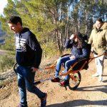 Los usuarios del Centro de Día harán senderismo en Joëlette