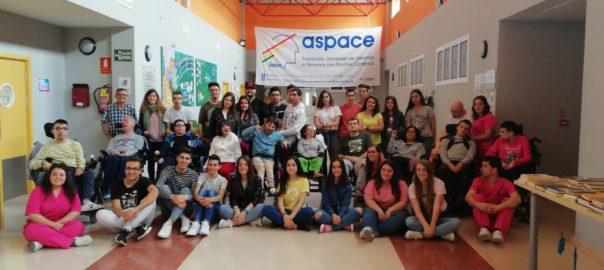 Alumnos del IES Sierra Sur de Valdepeñas de Jaén conocen Aspace Jaén