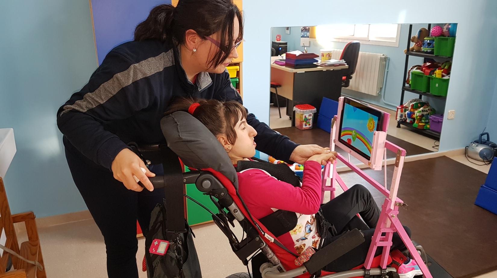 María del Mar Zarrías:»Luchamos día a día para que mi hija sea feliz»
