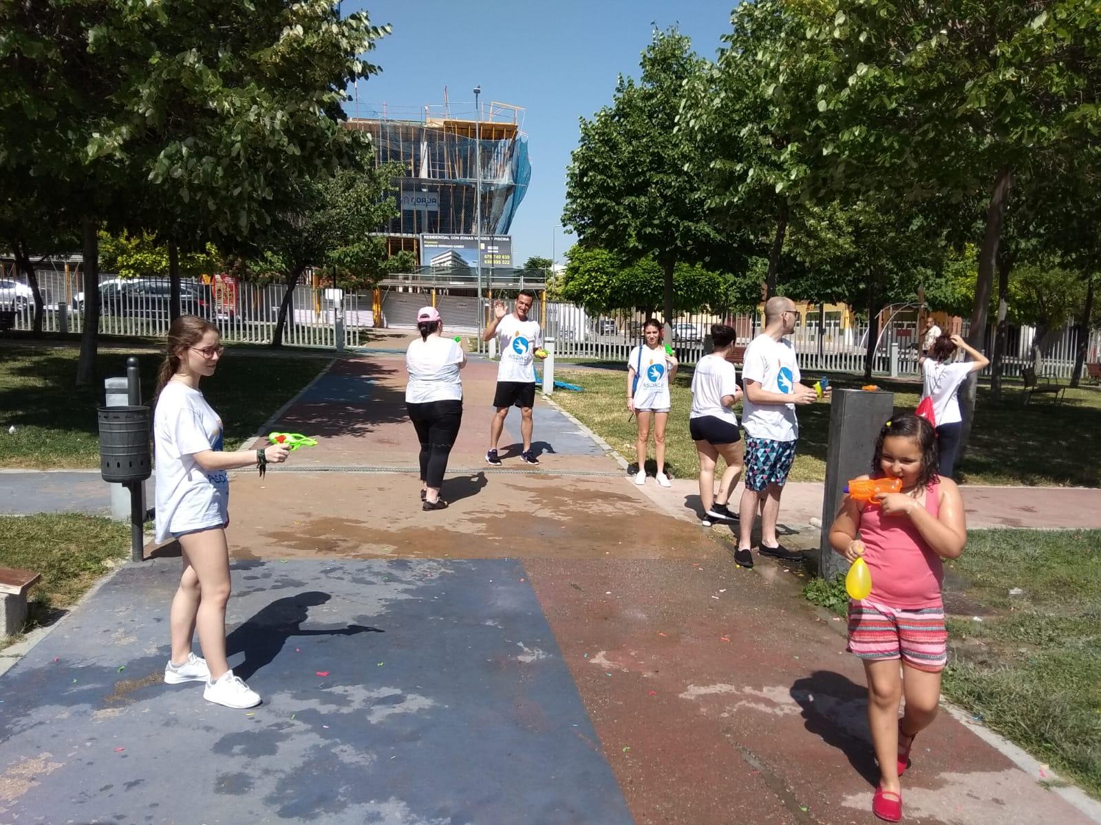 La escuela de ocio finaliza la temporada en el parque del Bulevar