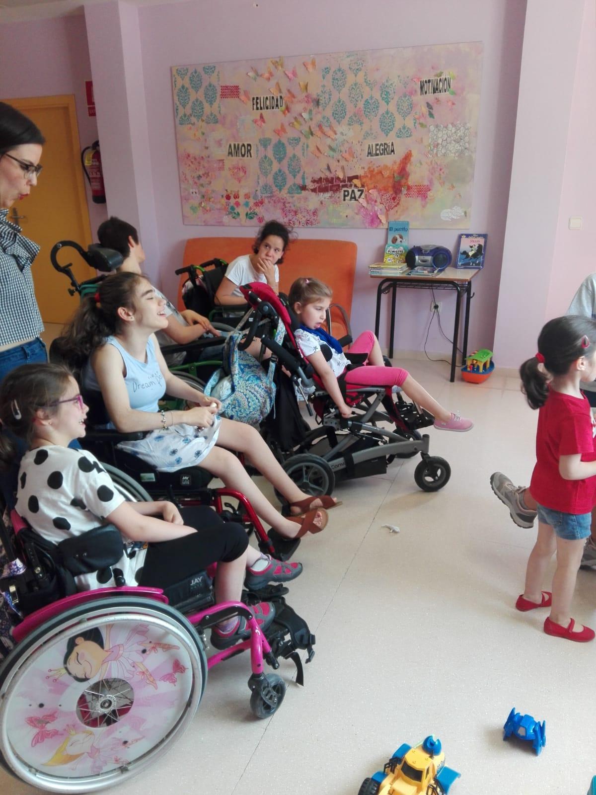 Comenzó la escuela de verano en Aspace Jaén