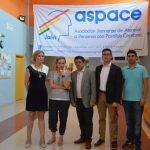 Francisco Reyes visita las instalaciones de Aspace Jaén
