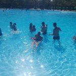 Nuestros chic@s de la Escuela de Verano disfrutan de una jornada en la piscina de Las Fuentezuelas